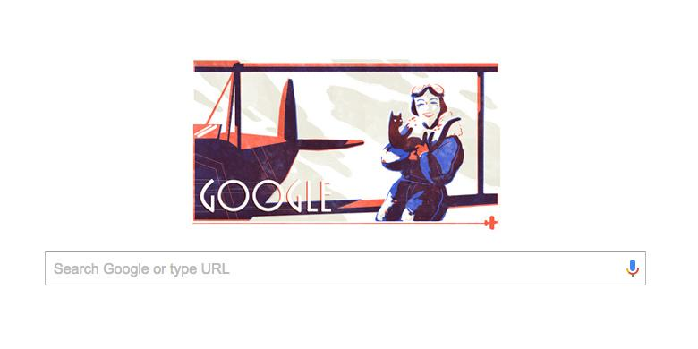 Siapa Jean Batten Yang Jadi Google Doodle Hari Ini?