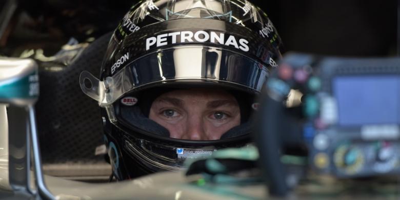 Rosberg Bawa Mercedes Kembali Jadi Yang Tercepat
