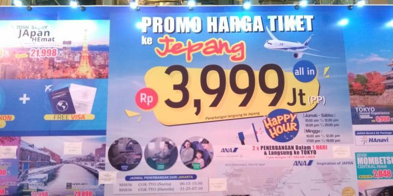 Hari Pertama Cool Japan Travel Fair, 1.500 Tiket Ke Jepang Ludes