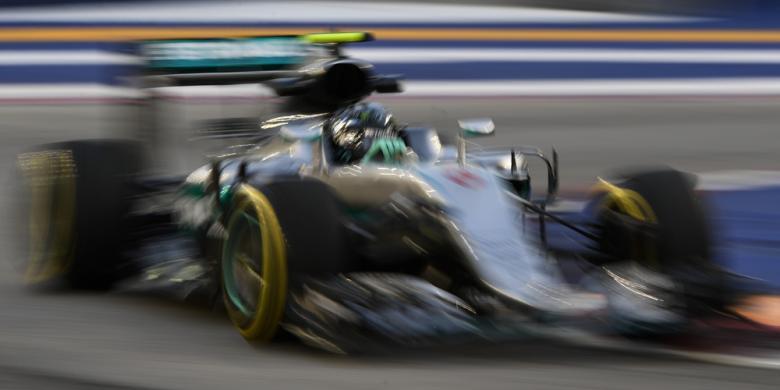 Rosberg Kembali Jadi Yang Tercepat Pada Sesi Latihan GP Singapura
