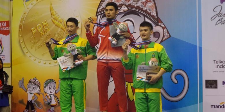 Achmad Hulaefi Sumbang Emas Wushu Untuk DKI Jakarta
