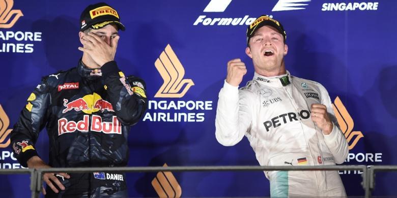 Menang Di Singapura, Rosberg Kembali Pimpin Klasemen F1 2016