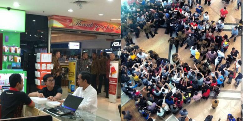 """Belanja Di Mangga Dua, Jokowi Beli """"Gadget"""" Apa?"""