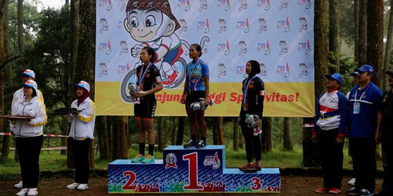 Jawa Barat Dominasi Cabang Renang Dan Balap Sepeda PON 2016