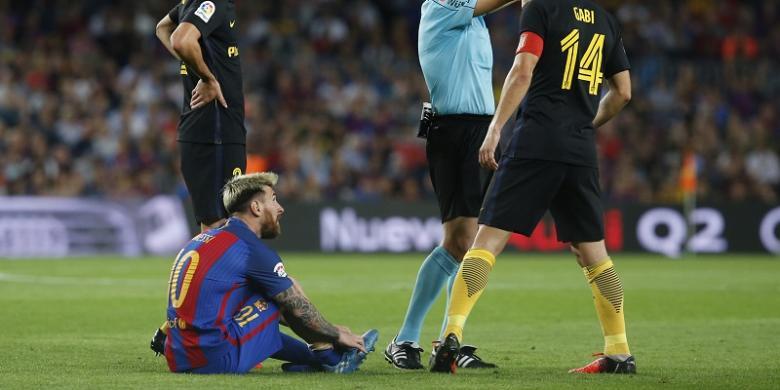 Messi Cedera, Barcelona Jadi