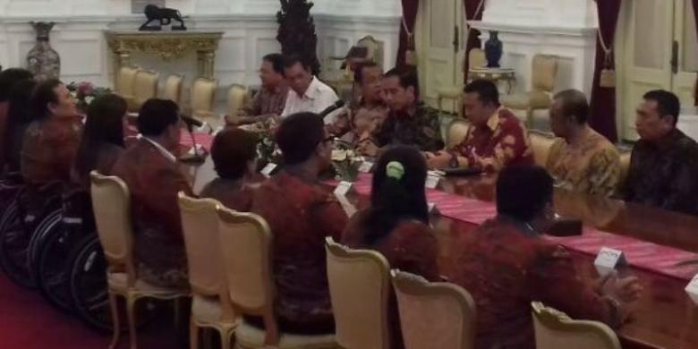 Ini Pesan Jokowi Untuk Kontingen Paralimpiade