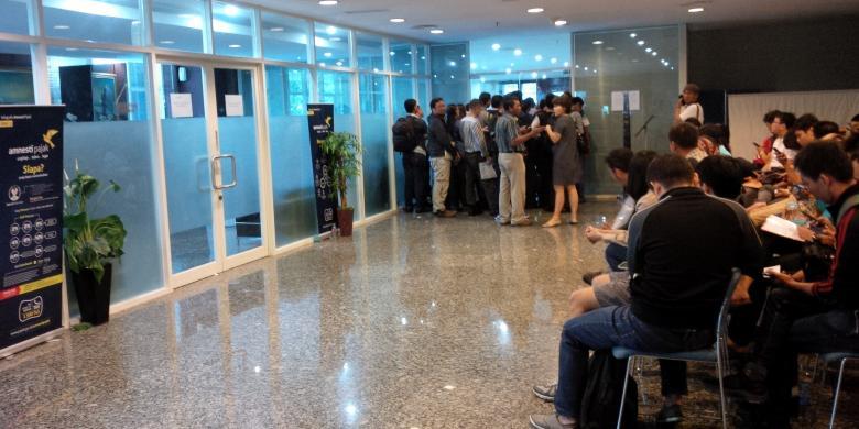 "Kantor Pajak Membludak, Pelaporan Harta ""Tax Amnesty"" Tembus Rp 1.770 Triliun"
