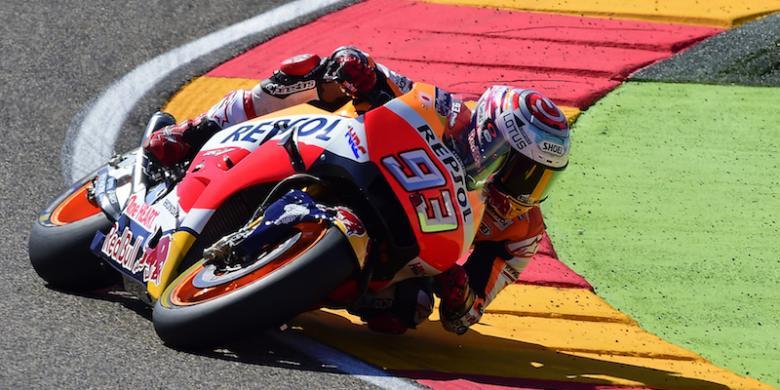 """Marquez Raih """"Pole Position"""" GP Aragon"""