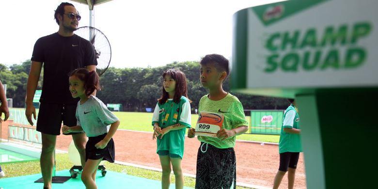 Gaya Hidup Keluarga Aktif  Dalam Jakarta Kids Triathlon 2016