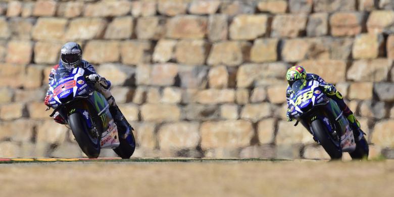 Lorenzo Senang Bisa Finis Kedua Di Aragon