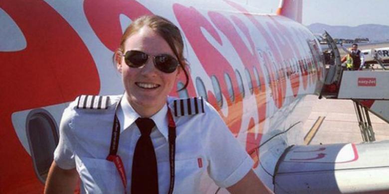 Kate McWilliams, Kapten Pilot Wanita Termuda di Dunia, Terbang sejak Usia 13 Tahun