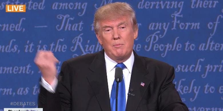 Hillary Buktikan Trump Awali Karir Politik dengan Kebohongan Rasial