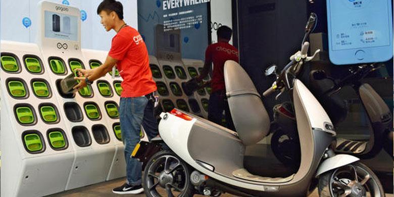 Tren Skuter Listrik Di Taiwan Bisa Dicontoh Indonesia