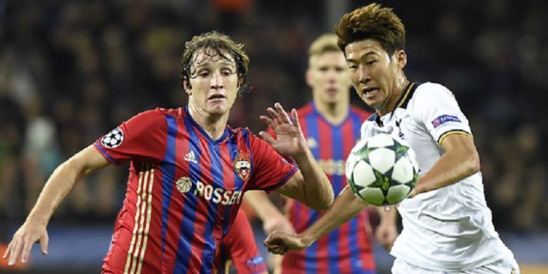 Hasil Liga Champions, Rekor Son Heung-min dan Cristiano Ronaldo