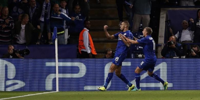Kembali Catat Kemenangan, Leicester Ukir Sejarah