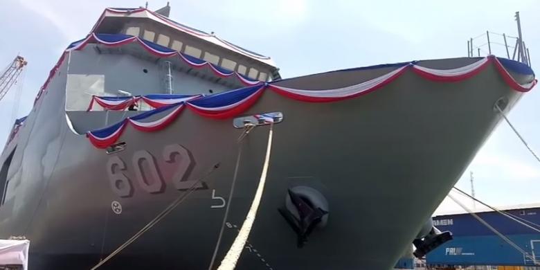 PT PAL Selesaikan 2 Kapal Perang Pesanan Filipina dan Indonesia