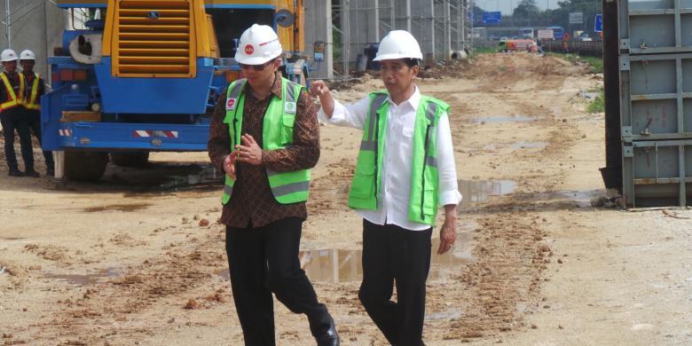 Asyiknya Jokowi-Ahok...