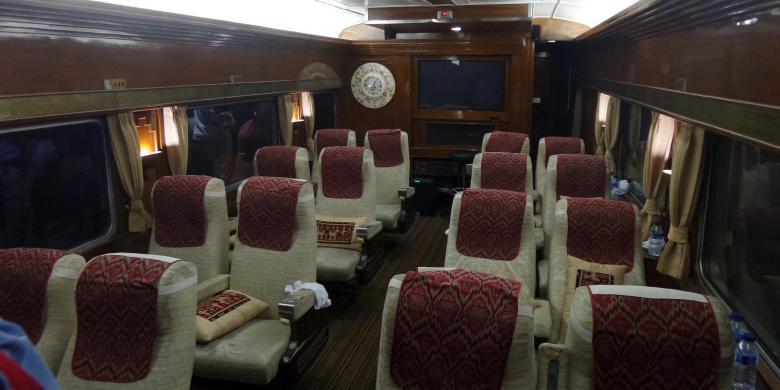 Berwisata Di Dalam Gerbong Kereta Istimewa Ala Presiden