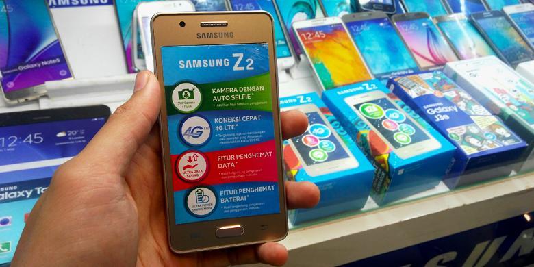 Samsung Z2 Sudah Muncul Di Jakarta, Terbatas Dan Lebih Mahal
