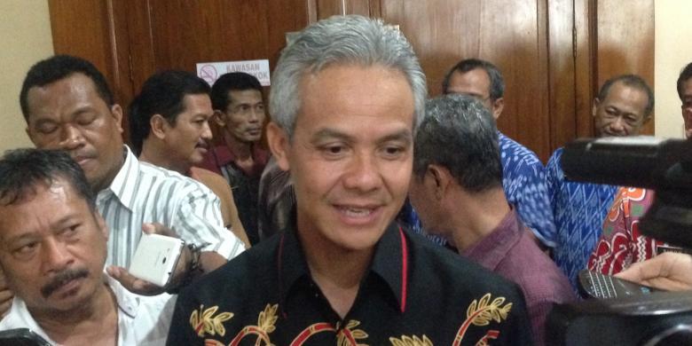 Truk Kelebihan Muatan Bikin Kesal Ganjar Pranowo