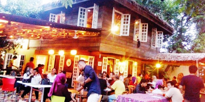 Mau Sensasi Masakan Kampung Era 70-an, Datanglah Ke Kafe Rumah Pohon
