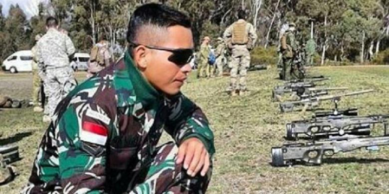 Serda Dasep Iman Suherman   Dok. Kodam III Siliwangi
