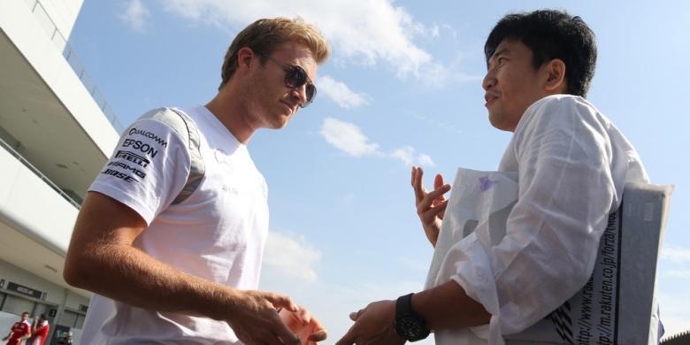 Rosberg Langsung Melesat Pada Latihan Pertama GP Jepang