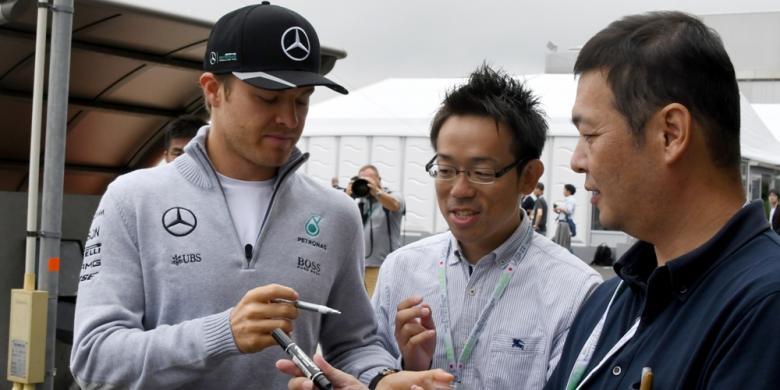 Rosberg Kembali Unggul Atas Hamilton Pada Latihan Ke-3 GP Jepang