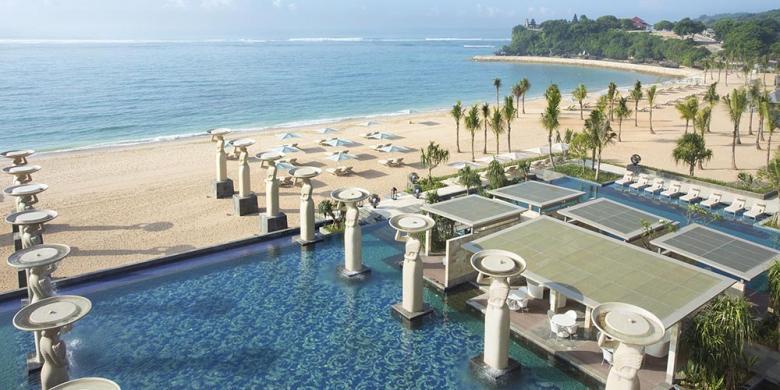 "The Mulia Bali Masuk 21 ""Beachfront Hotel"" Terindah Di Dunia"