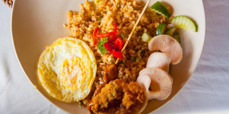Nasi Goreng, Makanan Favorit Saat Naik Pesawat