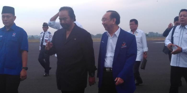 Surya Paloh Nilai Positif Konsolidasi TNI Dan Polri Oleh Presiden