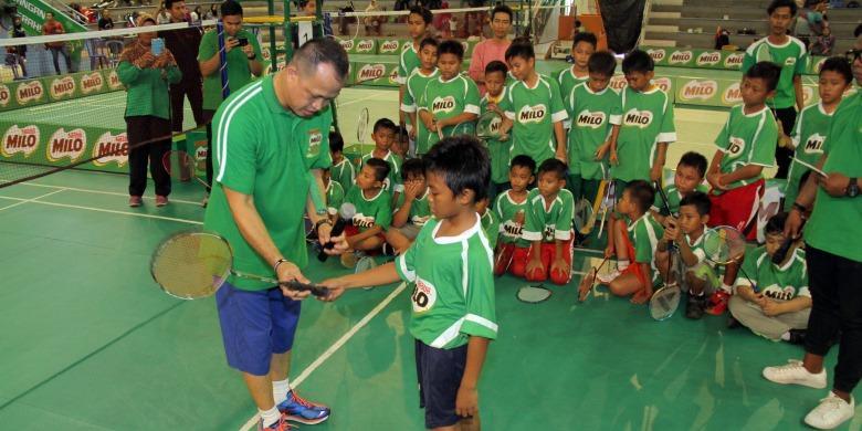 SMPN1 Marabahan  Bawa Pulang Piala MILO
