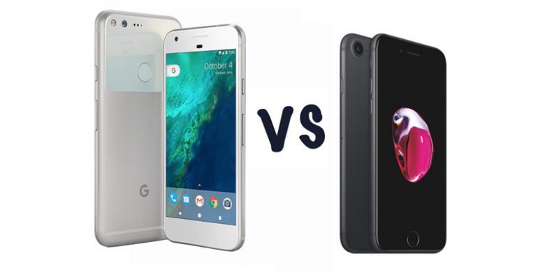 Harga Sama, Lebih Baik Beli Google Pixel Atau IPhone 7?
