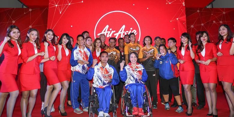 AirAsia Berikan Tiket Gratis Seumur Hidup Untuk Peraih Emas Paralimpiade ASEAN