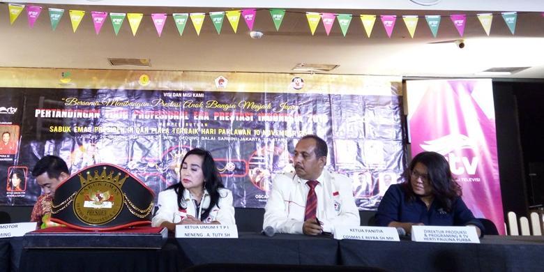 M Rahman Dan Oscar Reknafa Berebut Sabuk Presiden