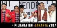 Pilkada DKI 2017 Resmi Diikuti Tiga Pasang Cagub-Cawagub