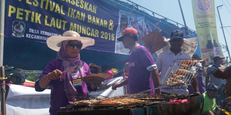 Pesta Bakar Ikan Di Banyuwangi Habiskan 2 Ton Ikan
