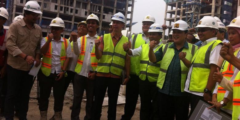 Pembangunan Perkampungan Atlet Untuk Asian Games 2018 Pesat