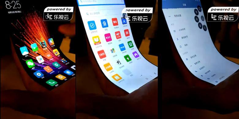 "Xiaomi Pamer Layar ""Smartphone"" Yang Melengkung"