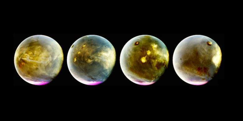 Foto Terbaru NASA Ungkap Wajah Mars yang Tak Pernah Dilihat Sebelumnya