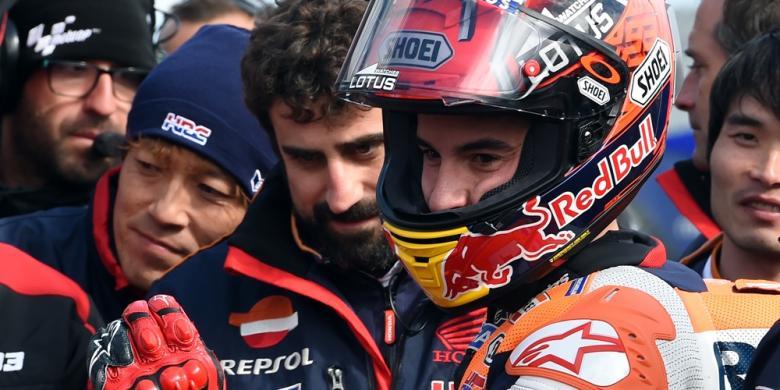 "Pertaruhan Marquez Yang Berbuah ""Pole Position"""
