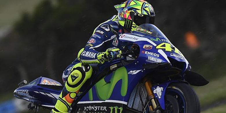 Start Dari Posisi 15, ini Kata Valentino Rossi