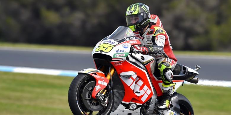 Crutchlow Finis Pertama Di Depan Rossi Pada GP Australia