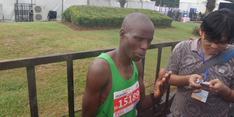 Pelari Kenya Anggap Hadiah Jakarta Marathon 2016 Terlalu Kecil