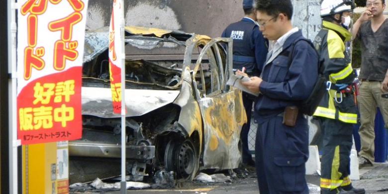 Ledakan di Jepang Disebabkan Aksi Bunuh Diri Pensiunan Tentara