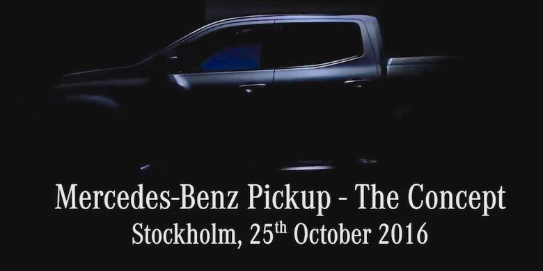 Mercedes-Benz Siap Terjun Di Pasar Pikap