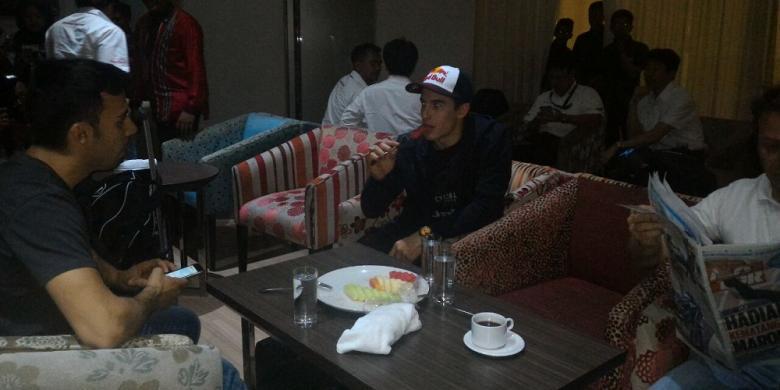 Juara Dunia MotoGP 2016, Marc Marquez, Tiba Di Indonesia
