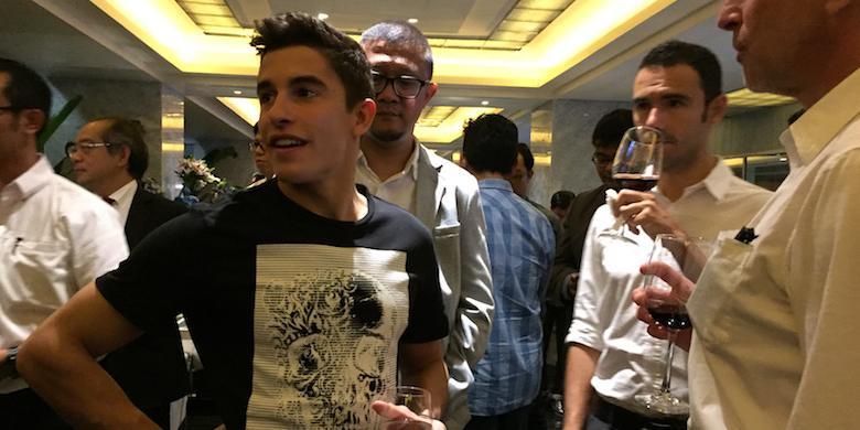 Marquez Siap Sapa Penggemar Di Sirkuit Sentul