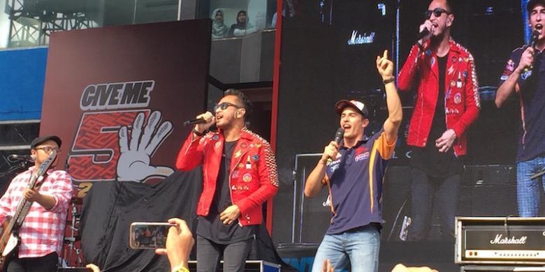 Kolaborasi Marquez-Nidji Meriahkan Sirkuit Sentul