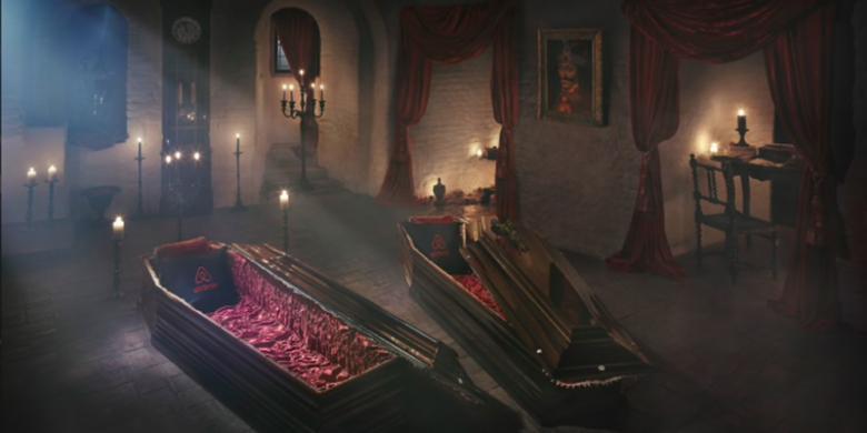 Malam Halloween, Berani Menginap Di Kastil Drakula?
